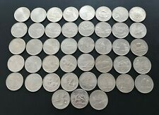 More details for rare usa 42 state quarter dollar coins + drummer boy 43x coins all different #l9