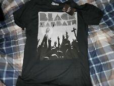 Boohoo Man Black Sabbath T Shirt Size Large NWT