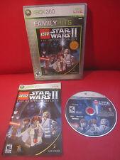 LEGO Star Wars II: The Original Trilogy (Microsoft Xbox 360, 2006) Excellent