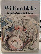 WILLIAM BLAKE La Divina Commedia di Dante TUTTI I DISEGNI (Taschen)