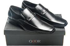 Goor Slip Ons Square Formal Shoes for Men