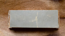 Japanese Natural Whetstone With Wooden Base For Straight Razors Knives Tools