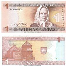 Lithuania 1 Litas 1994 P-53  Banknotes  UNC