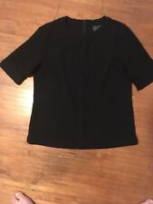 Chanel RN #78334 Woman's Uniform Blouse Size S Black