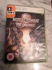 Mortal Kombat vs DC Universe (Xbox 360) avec Manuel