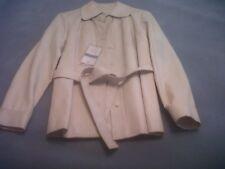 Womens Vintage Ivory Jacket. Size 10. Tags