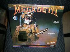 MEGADETH **So Far, So Good...So What! [PA] **NEW RECORD LP VINYL