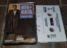 WAYNE NEWTON Coming Home CASSETTE TAPE 1989 RARE