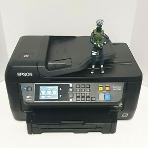 EPSON Workforce WF-2760 All-In-One InkJet Printer GREAT Condition!