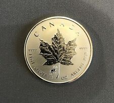 2015 $5 SILVER Maple Leaf Lunar GOAT / RAM PRIVY mark - Reverse Proof