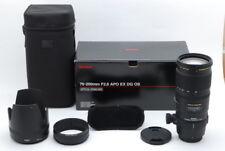 【Exc+】SIGMA AF 70-200mm F/2.8 APO EX DG HSM OS Lens for Pentax K w/Box,Case (475
