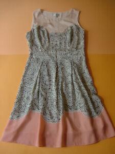 Kleid Seide Laura Ashley Seidenkleid Sommerkleid Gr. 40 / 42 sehr schön, wie neu