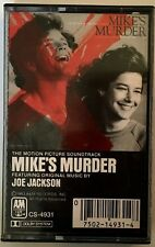 Joe Jackson - Mike's Murder/Cassette/Tape/Album/1983/Play Tested RARE