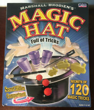 New & Sealed * 2001 Marshall Brodien'S Magic Hat *Secrets Of 120 Magic Tricks