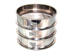 Aluminum Herbal Pollen Hash Extractor stackable sifter 120 160 220 Micron Screen