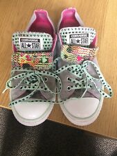 Limited Edition Converse All-Star Trainers Size 4