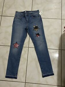 gap kids pants girls size 14 super skinny ankle