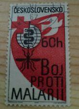 Ceskoslovensko Stamp  1962 Control Malaria Medicine