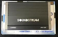 Soundstream AR4.1200D 4-CH Class A/B Car Stereo Amplifier 1200 WATTS 2OHM STABLE
