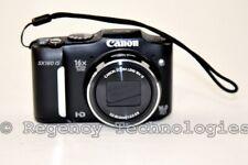 CANON POWERSHOT SX160 IS 16.0MP DIGITAL CAMERA | 6354B001 | BLACK