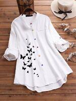 Top Casual Fashion Solid V Neck Short Sleeve T-Shirt Elegant Pullover Jumper M