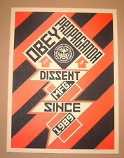 Constructivist Banner Shepard Fairey Print Poster Signed Numbered Black Edition