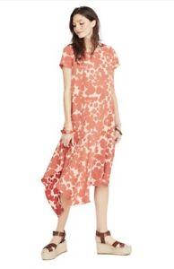 "Hatch Maternity Women's ""The Alexandra Dress"" Red Floral Size 3 (Lrg/12) NEW"
