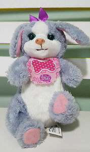 FURREAL FRIENDS PURPLE DOG PLUSH TOY ELECTRONIC TOY SIPPY PUP! 16CM TALL!