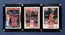 1988 1989 1990 MICHAEL JORDAN LOT OF 3 FLEER CARDS #17 #21 #26, SEQUENTIAL YEARS