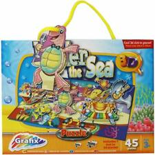 Grafix Under The Sea 3D Puzzle 45 Pieces 3+