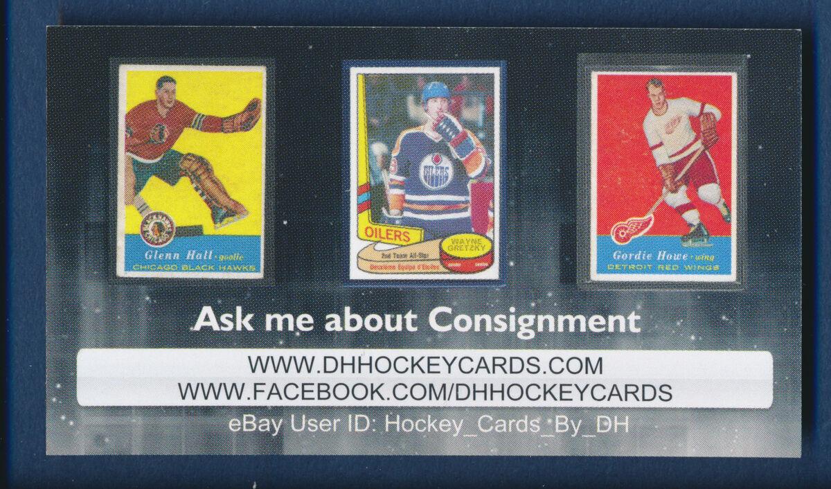 DH Hockey Cards