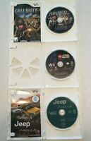 Lot of 3  Nintendo Wii Games - Call of Duty - Lego Star Wars - Jeep Thrills