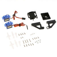 2-Pack Servo Motor Camera Anti-Vibration Mount Platform Bracket Airplane