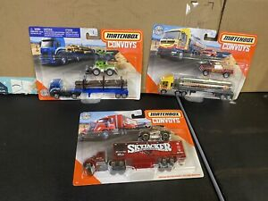 Matchbox Convoys 1/64 Scale Big Rigs Lot Of 3