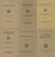 Dvd - 150 vol. Numismatic Notes and Monographs 1920-1963
