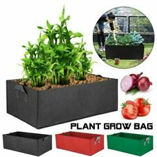 Fabric Rectangular Flower & Plant Flower Pots Boxes