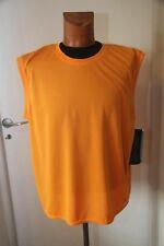 Original tee shirt sans manche IN-SPORT J523 orange taille XL  neuf