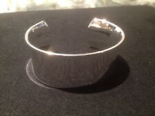 silver big cuff bangle ( 7 cm  new for 2017 handmade stunning)all handmade