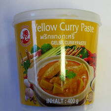 (1kg=9,73€) Gelbe Thai Currypaste 400g - Cock   - Curry Paste