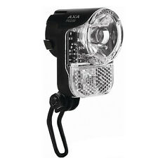 30 Lux ! Fahrrad Lampe LED Scheinwerfer AXA Pico Seitendynamo APOLDA für Stevens