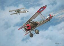 """""""Fifth Victory"""" Roy Grinnell WWI Aviation Print co-signed by Lt Douglas Campbell"""