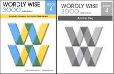 Wordly Wise 3000 Grade 4 SET -- Student and Key NEW  *3rd edition*