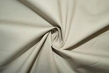 Sand Poplin #16 Cotton Lycra Spandex Stretch Woven Apparel Fabric BTY