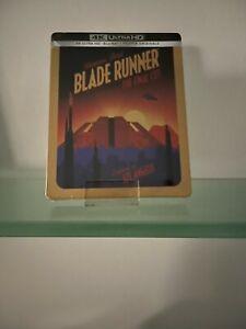 BLADE RUNNER THE FINAL CUT SCI-FI COLLECTION ED. LIMITATA STEELBOOK 4K+ BLU RAY