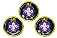 Mer Scouts Marqueurs de Balles de Golf
