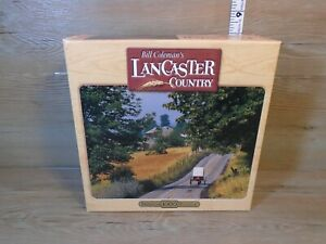 Bill Coleman's Lancaster Country Puzzle Green Mountain Road 1000 Pieces NEW
