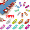 50Pcs Wonder Clips Crafts Fabric Quilting Crochet Sewing Knitting Craft