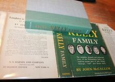 SIGNED That Kelly Family John McCallum first edition 1957 Grace Jack