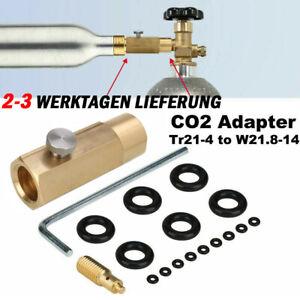 CO2 Adapter Wassersprudler f. Befüllung von Sodastream Soda Club Zuhause 425g DE