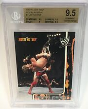 2002 Fleer Royal Rumble JOHN CENA Rookie Card #7 BGS 9.5 Gem Mint WWE RC